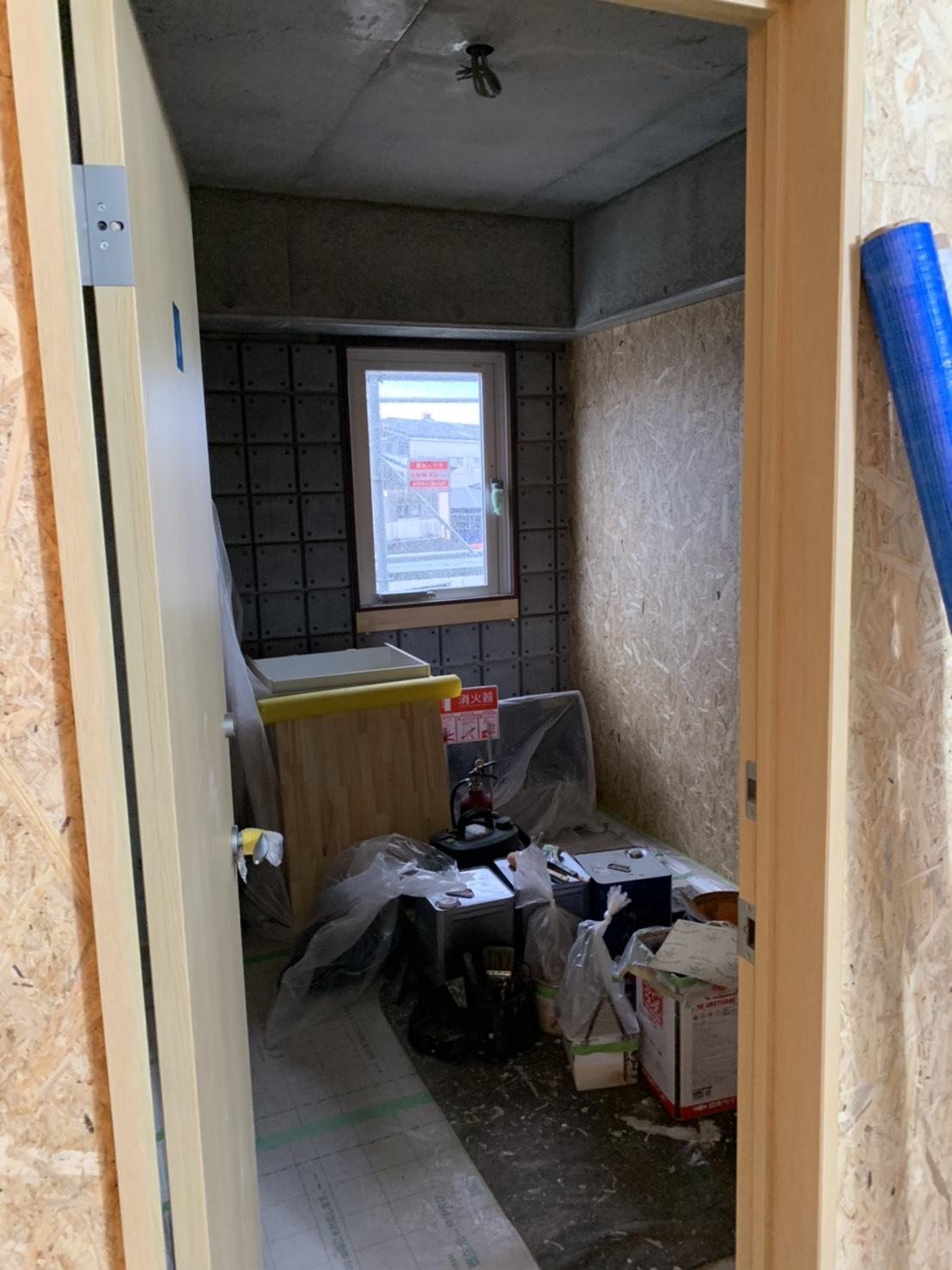 敏建設 新社屋 進捗状況