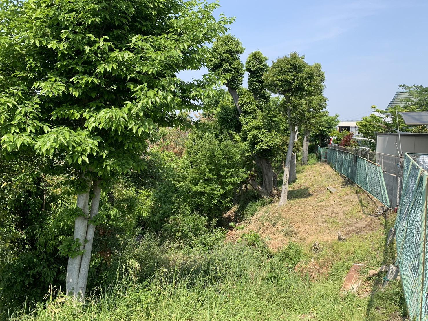 某堺市の敷地内整備工事