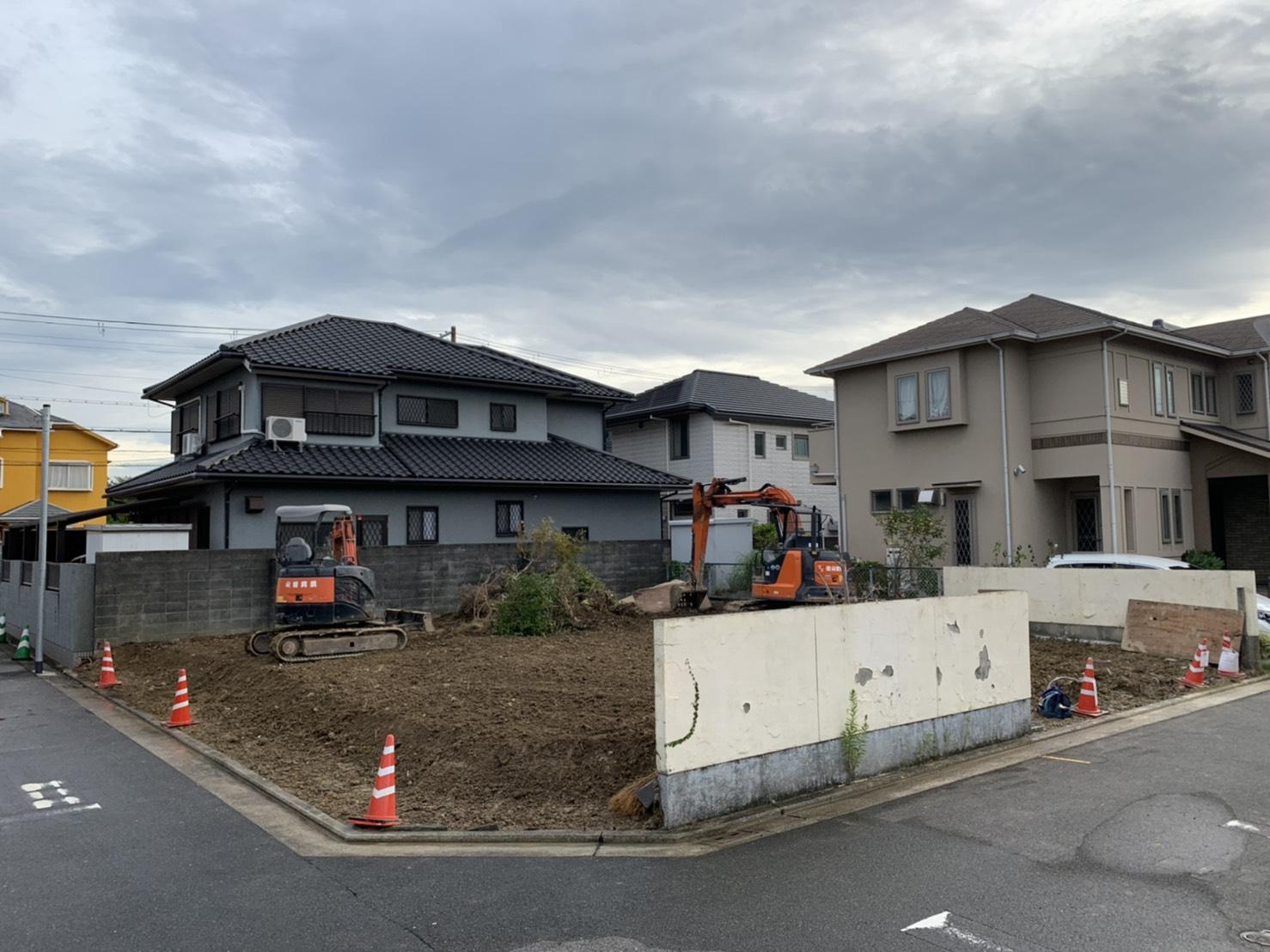 堺市東区 某新築工事