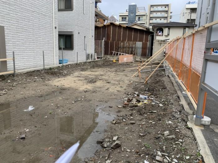 【施工実績】浪速区元町 マンション基礎