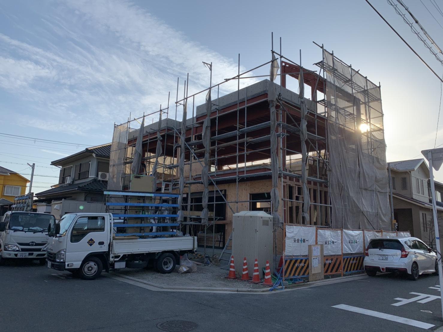 【進捗状況】堺市東区 某新築工事