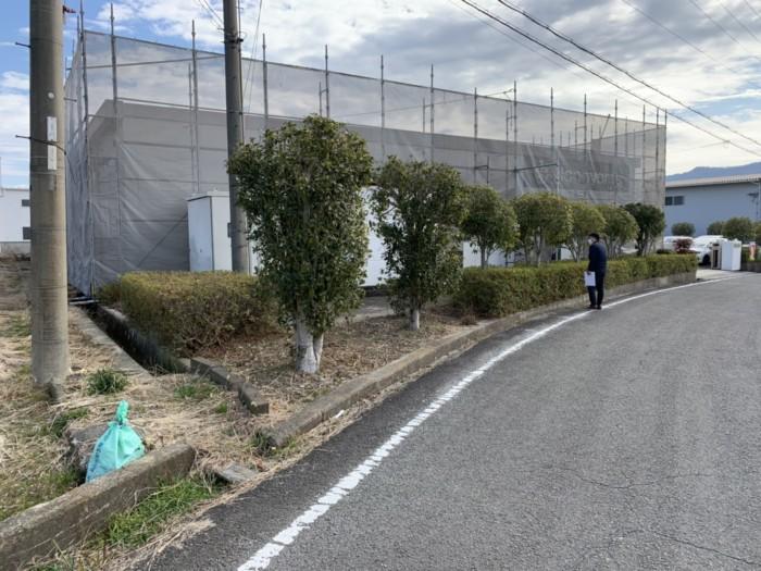【施工実績】和歌山県某工場 新設駐車場完了