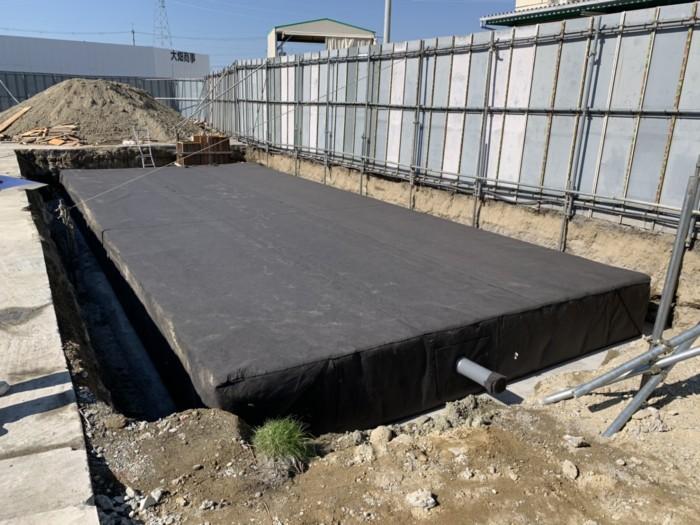大型貯留槽 羽曳野市 埋設工事
